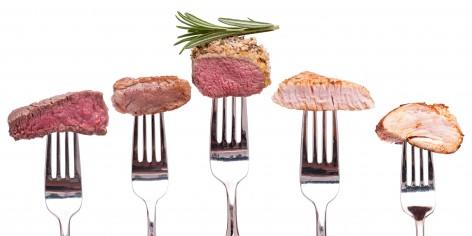 Uitgebreid assortiment aan vlees
